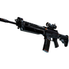 SG 553 | Phantom (Battle-Scarred)