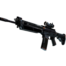 StatTrak™ SG 553 | Phantom (Battle-Scarred)
