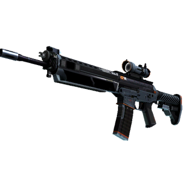 StatTrak™ SG 553 | Phantom (Field-Tested)
