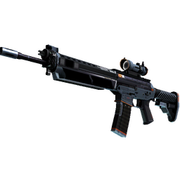 StatTrak™ SG 553 | Phantom (Minimal Wear)