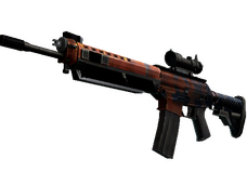 Skin SG 553 | Danger Close