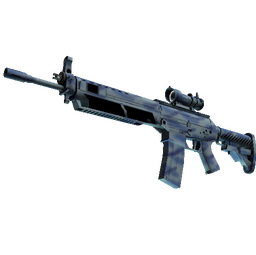 StatTrak™ SG 553 | Wave Spray (Minimal Wear)