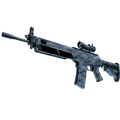 StatTrak™ SG 553 | Wave Spray <br>(Factory New)
