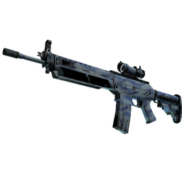 SG 553 | Wave Spray (Well-Worn)