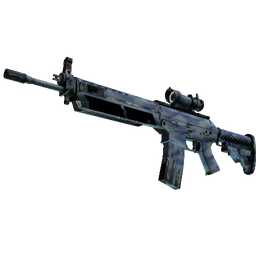 StatTrak™ SG 553 | Wave Spray (Field-Tested)