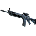 StatTrak™ SG 553 | Wave Spray <br>(Field-Tested)