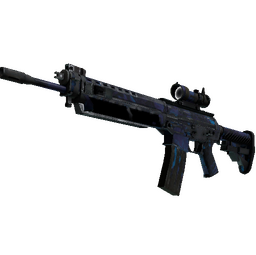 StatTrak™ SG 553 | Aloha (Battle-Scarred)