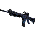 StatTrak™ SG 553 | Aloha <br>(Well-Worn)
