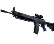 SG 553 | Waves Perforated (Battle-Scarred)