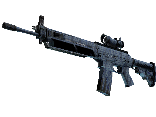 SG 553 | Waves Perforated (Field-Tested)