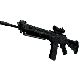 SG 553 | Barricade (Battle-Scarred)