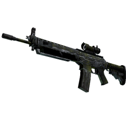 SG 553 | Gator Mesh (Battle-Scarred)