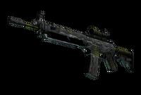 SG 553   Gator Mesh (Battle-Scarred)