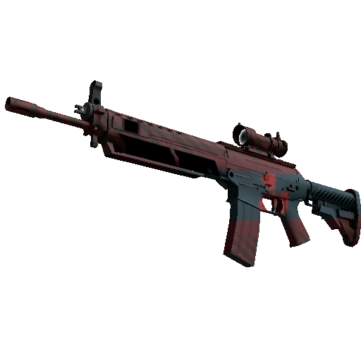 SG 553   Fallout Warning (Factory New)