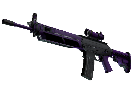 SG 553 | Ultraviolet Well-Worn