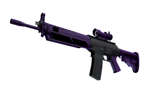 Buy SG 553 | Ultraviolet (Minimal Wear)