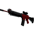 SG 553   Candy Apple <br>(Field-Tested)