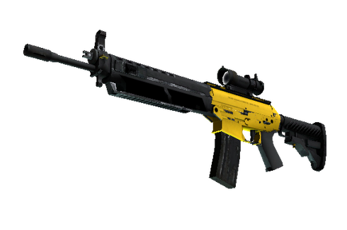 SG 553 | Bulldozer (Well-Worn) Prices