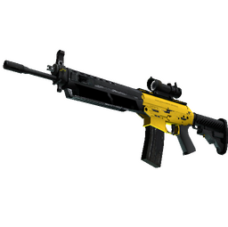 SG 553 | Bulldozer (Well-Worn)