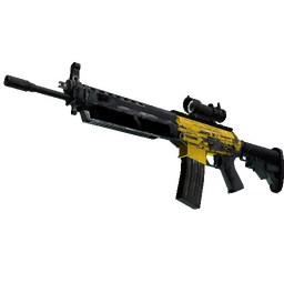 SG 553 | Bulldozer (Battle-Scarred)