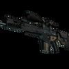SCAR-20   Contractor <br>(Battle-Scarred)