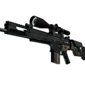 SCAR-20 | Contractor <br>(Battle-Scarred)