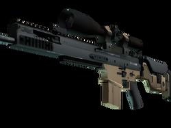 SCAR-20 | Наемник (Немного поношенное)