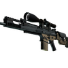 Souvenir SCAR-20 | Contractor <br>(Well-Worn)