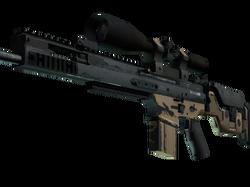SCAR-20 | Наемник (Поношенное)