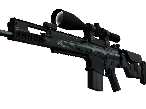 SCAR-20 | Storm Battle-Scarred