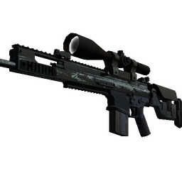 Souvenir SCAR-20 | Storm (Battle-Scarred)