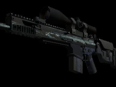 Сувенирный SCAR-20 | Гроза (Закаленное в боях)