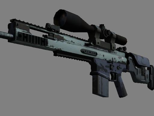 Souvenir SCAR-20 | Storm (Well-Worn)