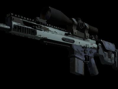 Сувенирный SCAR-20 | Гроза (После полевых испытаний)