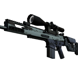 Souvenir SCAR-20 | Storm (Well-Worn)