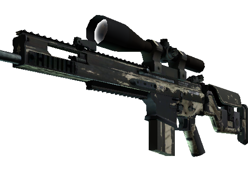 SCAR-20 | Palm Battle-Scarred