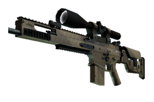 Scar 20 Sand Mesh Factory New