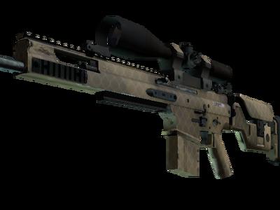 Сувенирный SCAR-20 | Песчаная сетка (Немного поношенное)