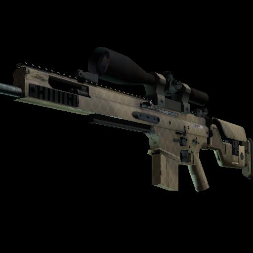 SCAR-20 | Sand Mesh - gocase.pro