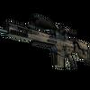 SCAR-20 | Sand Mesh (Well-Worn)