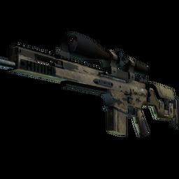 Souvenir SCAR-20 | Sand Mesh (Well-Worn)