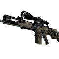 SCAR-20 | Sand Mesh <br>(Well-Worn)