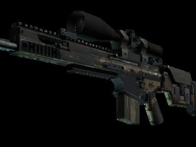 Сувенирный SCAR-20 | Песчаная сетка (Закаленное в боях)