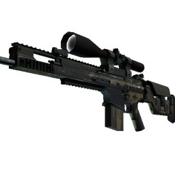 Souvenir SCAR-20 | Sand Mesh (Battle-Scarred)