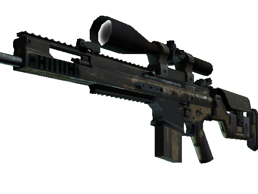 SCAR-20 | Sand Mesh Battle-Scarred
