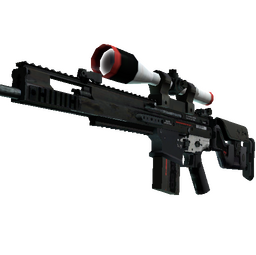StatTrak™ SCAR-20 | Cyrex (Battle-Scarred)