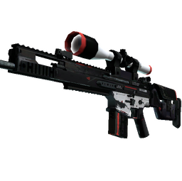 StatTrak™ SCAR-20 | Cyrex (Well-Worn)