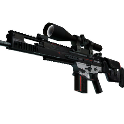 StatTrak™ SCAR-20 | Cyrex (Field-Tested)