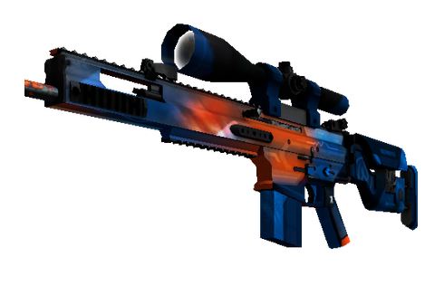 Buy StatTrak™ SCAR-20 | Cardiac (Well-Worn)