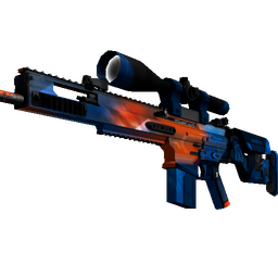 StatTrak™ SCAR-20 | Cardiac (Well-Worn)